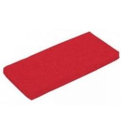 Pad prostokątny czerwony  25x12 cm