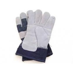 Rękawice wzamcniane skórą RB